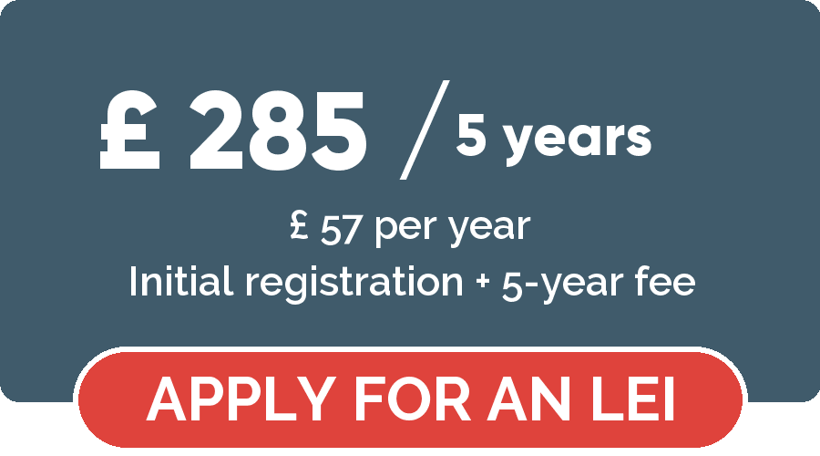 Legal Entity Identifier registration - Apply for a LEGAL ENTITY IDENTIFIER for 5 years